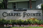 sign for Chapel Pointe of Chapel Trail