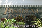sign for Pasadena Estates of Chapel Trail